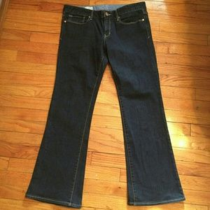 Gap dark blue jeans boot cut Size 12